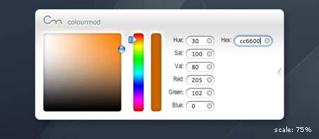 colourmod widget
