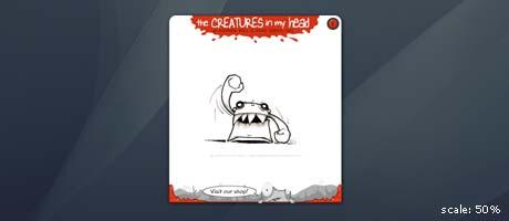 creatures in my head widget